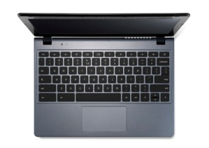 scaled.Acer Chromebook previewed at IDF keyboard