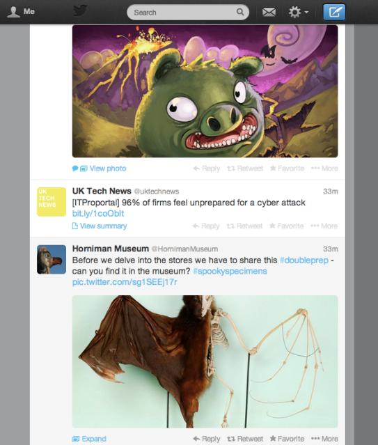 Twitter visual media