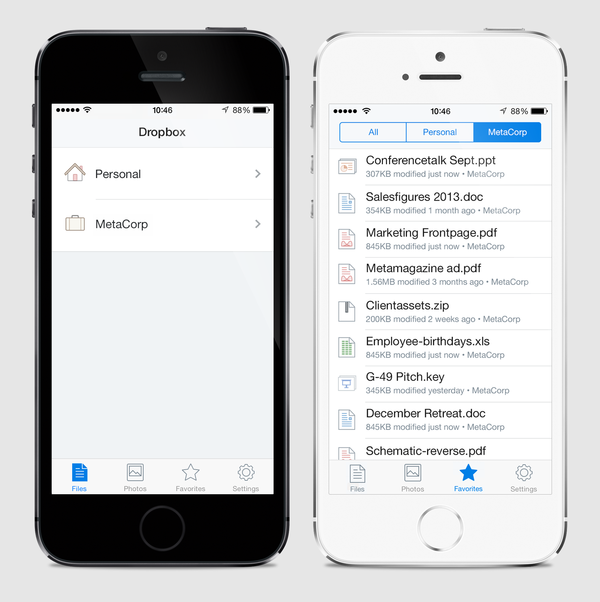 Dropbox For Business Mobile