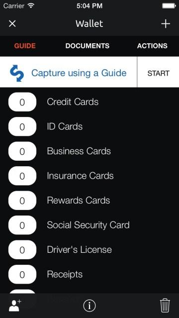 Mustbin app screenshot 3