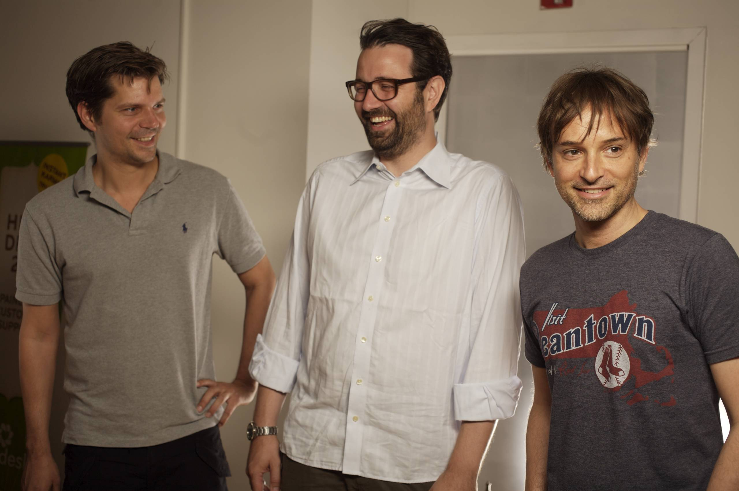 Primdahl, Svane, and Aghassipour (l-r) when they first moved to the U.S. in 2009.