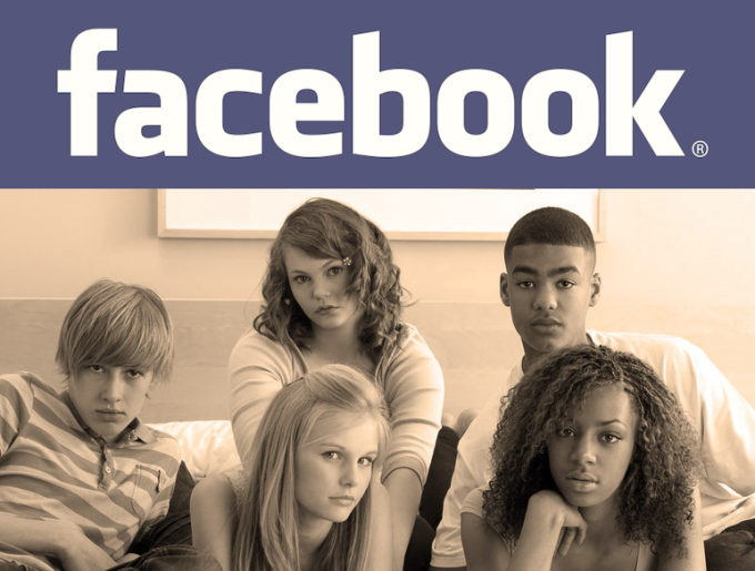 Facebook Bored Teens