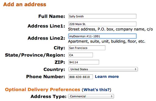 mydoorman-address