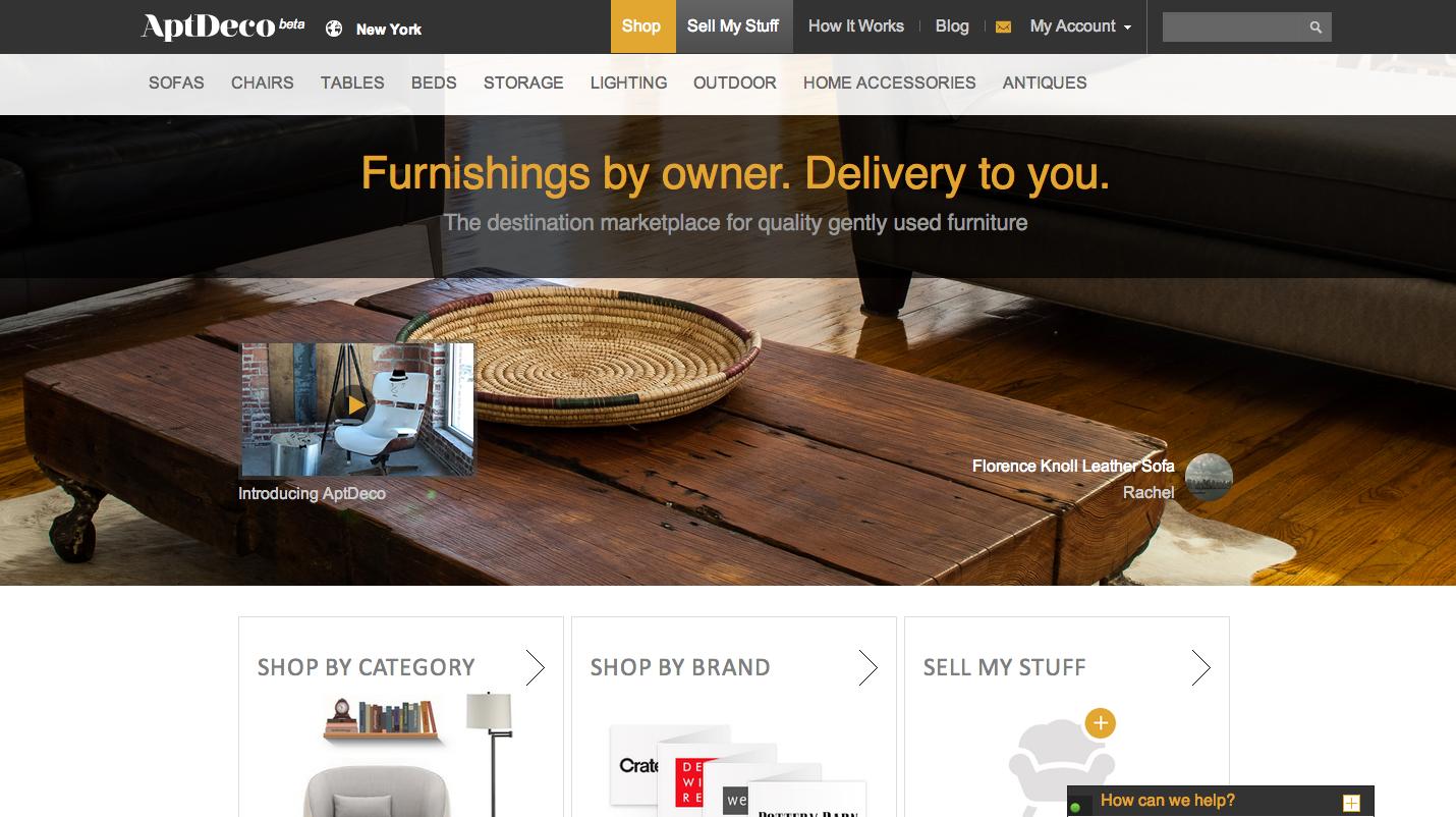 AptDeco-Homepage