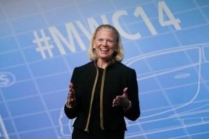 IBM CEO DELIVERS KEYNOTE ADDRESS AT MOBILE WORLD CONGRESS