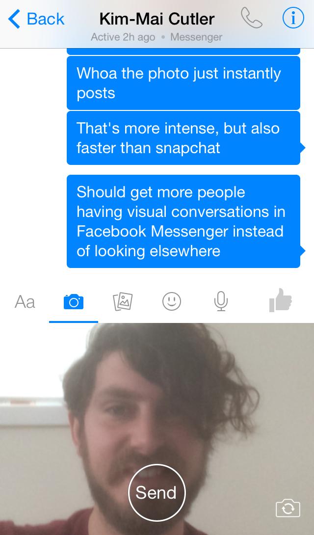 Selfie Messenger