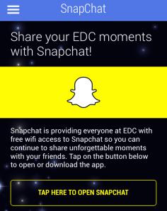 EDC App Snap