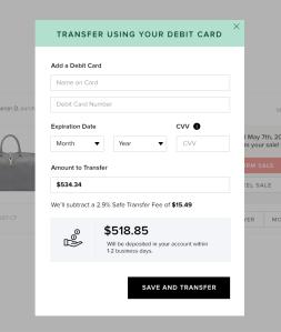 Modal-Payout