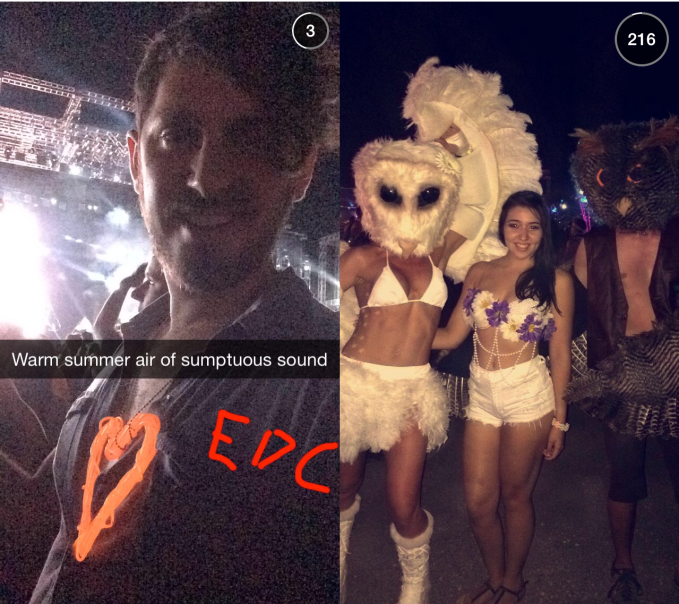 Snaps From EDC