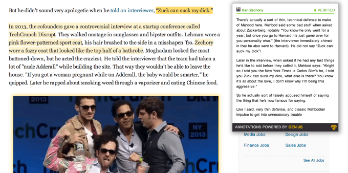 A look at Genius' new embeddable annotions, as seen on Business Insider