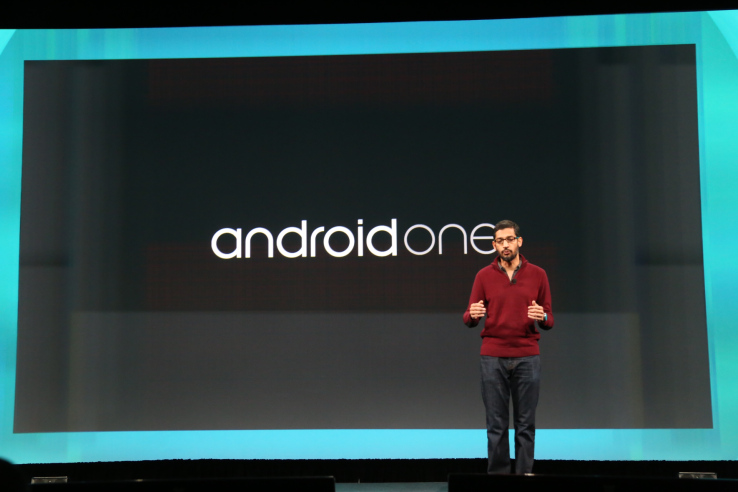 Sundar Pichai Google IO Android One