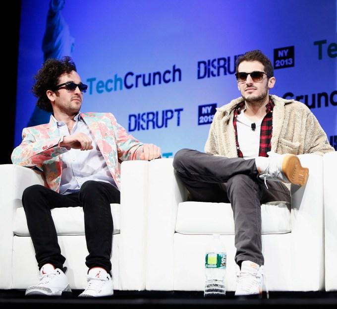 Rap Genius Founders Tom Lehman and Ilan Zechory (From Left)