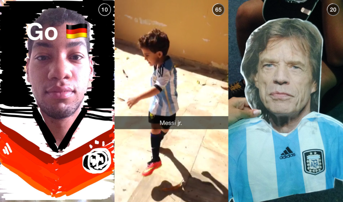 Snapchat Our story Curation