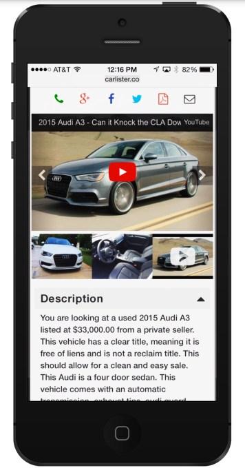 CarLister_Screenshot_listing