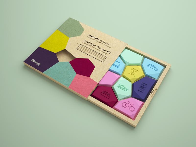 ESTIMOTE Stickers - Nearables Press Kit2