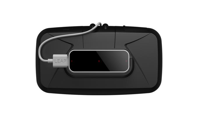 Leap Motion VR Developer Mount on HMD