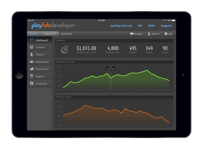 PlayFab iPad