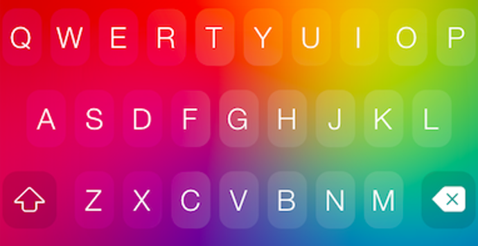 Themeboard keyboard