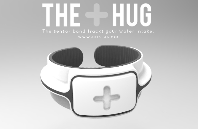 The Hug band render white