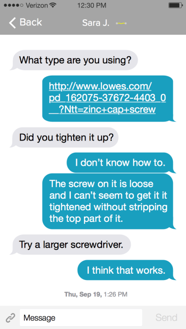 Consumer 005 - Text Message