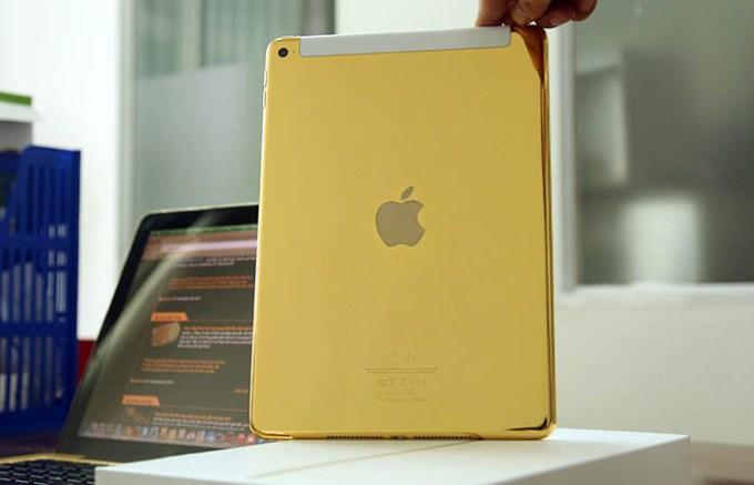 gold ipad air - 0