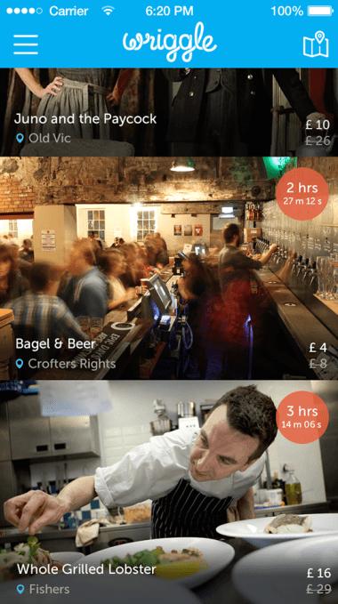 Wriggle app