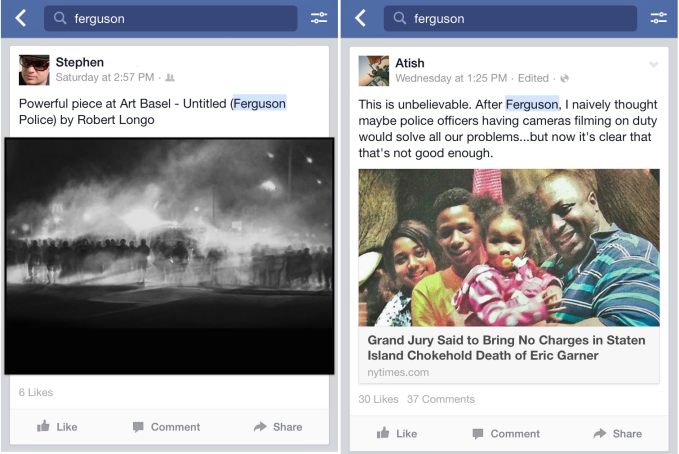 Facebook Ferguson