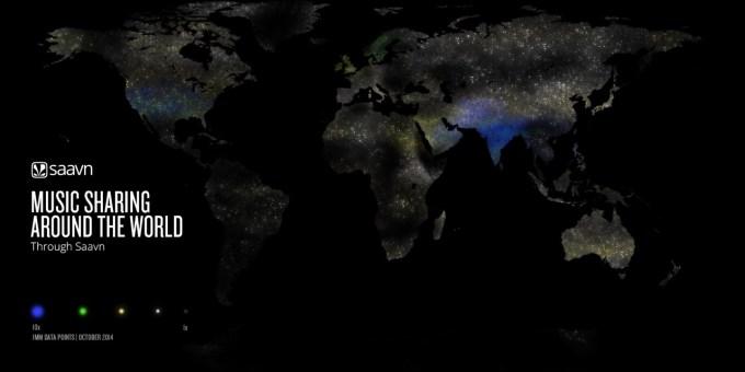 saavn worldwide