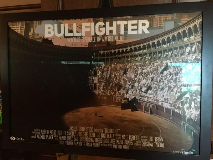 Oculus Bullfighter