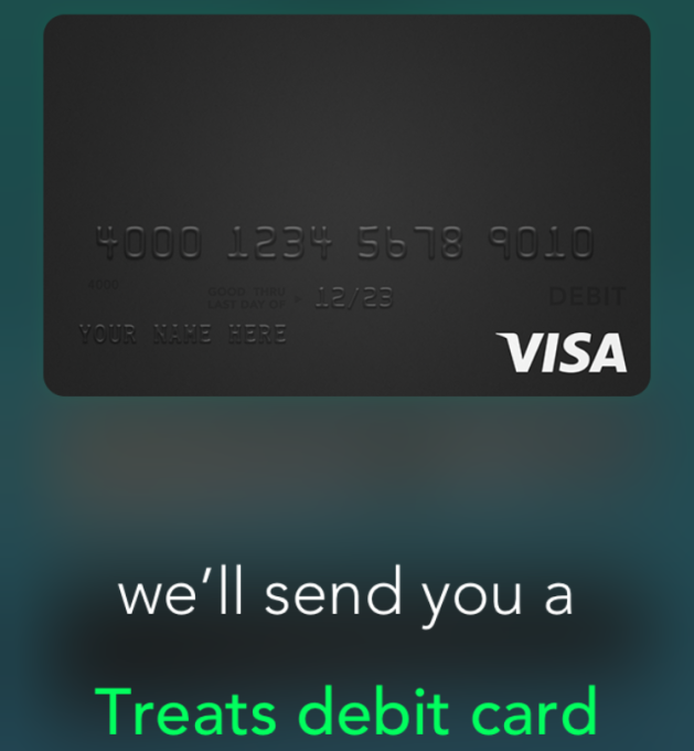 Treats Card