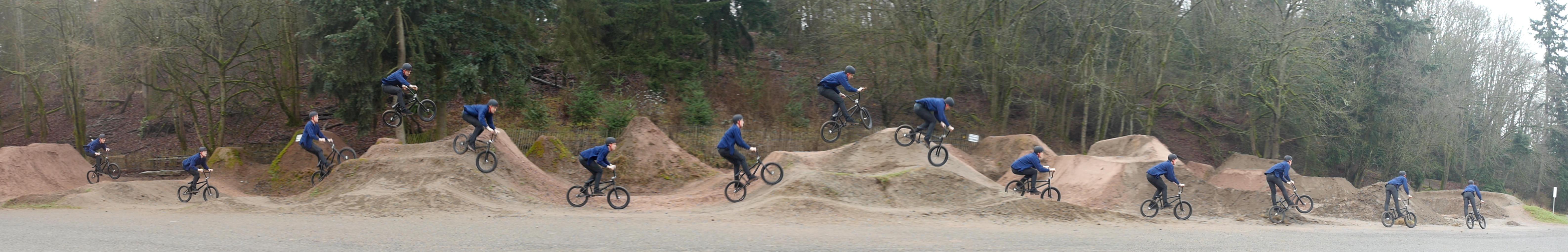 3 - dirt jumps