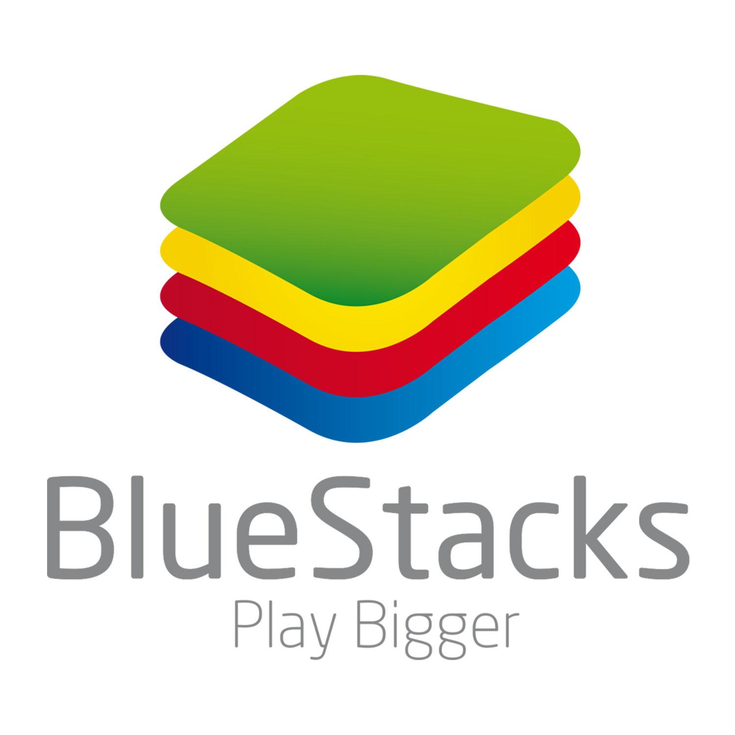 BlueStacks Logo Play Bigger