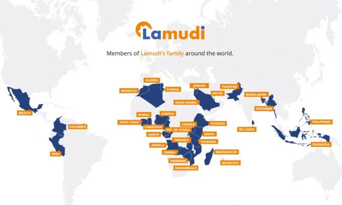 Lamudi map