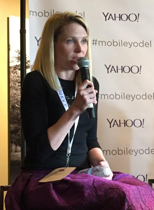 Marissa Mayer Press Conference