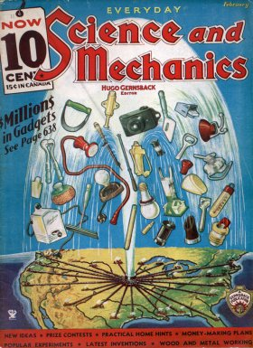 Science and Mechanics, February 1935
