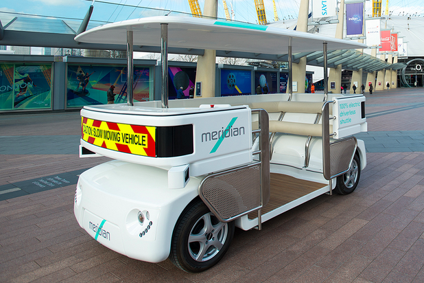 Driverless shuttle Greenwich