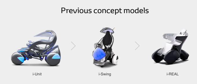 toyota concept vehicles