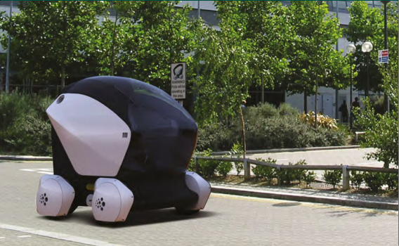 Milton Keynes driverless car