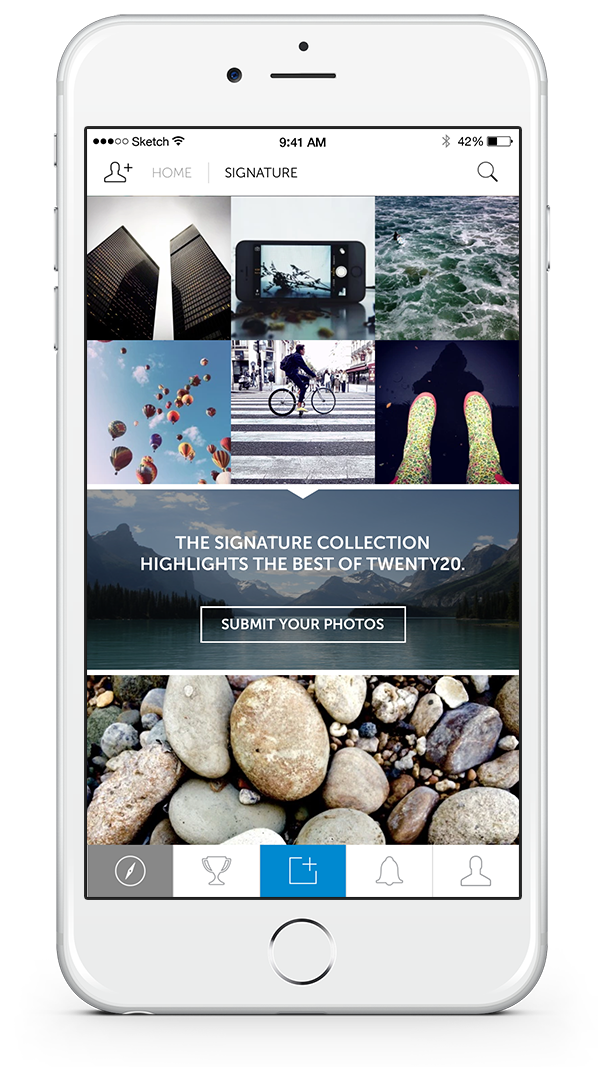 Twenty20-app-signature-collection