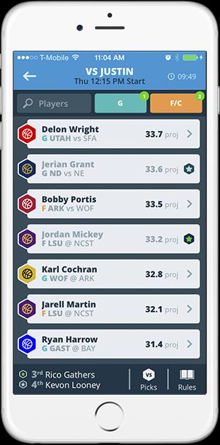 draft screen
