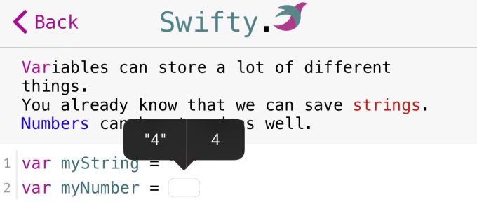 Swifty app
