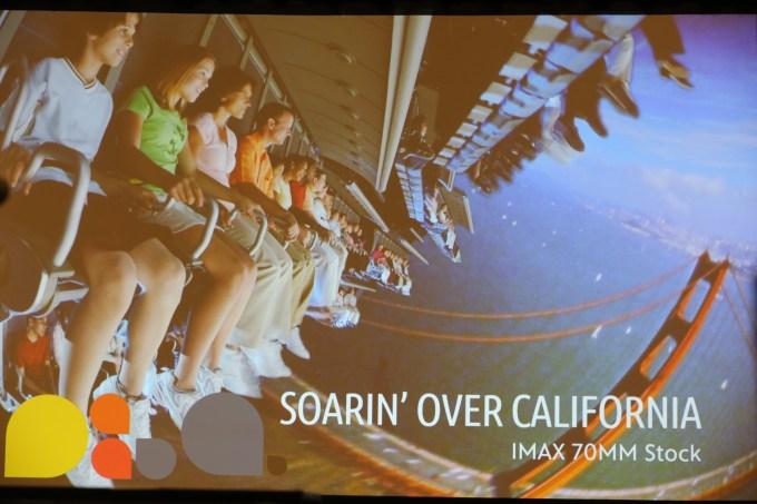 Soarin Over California Disney