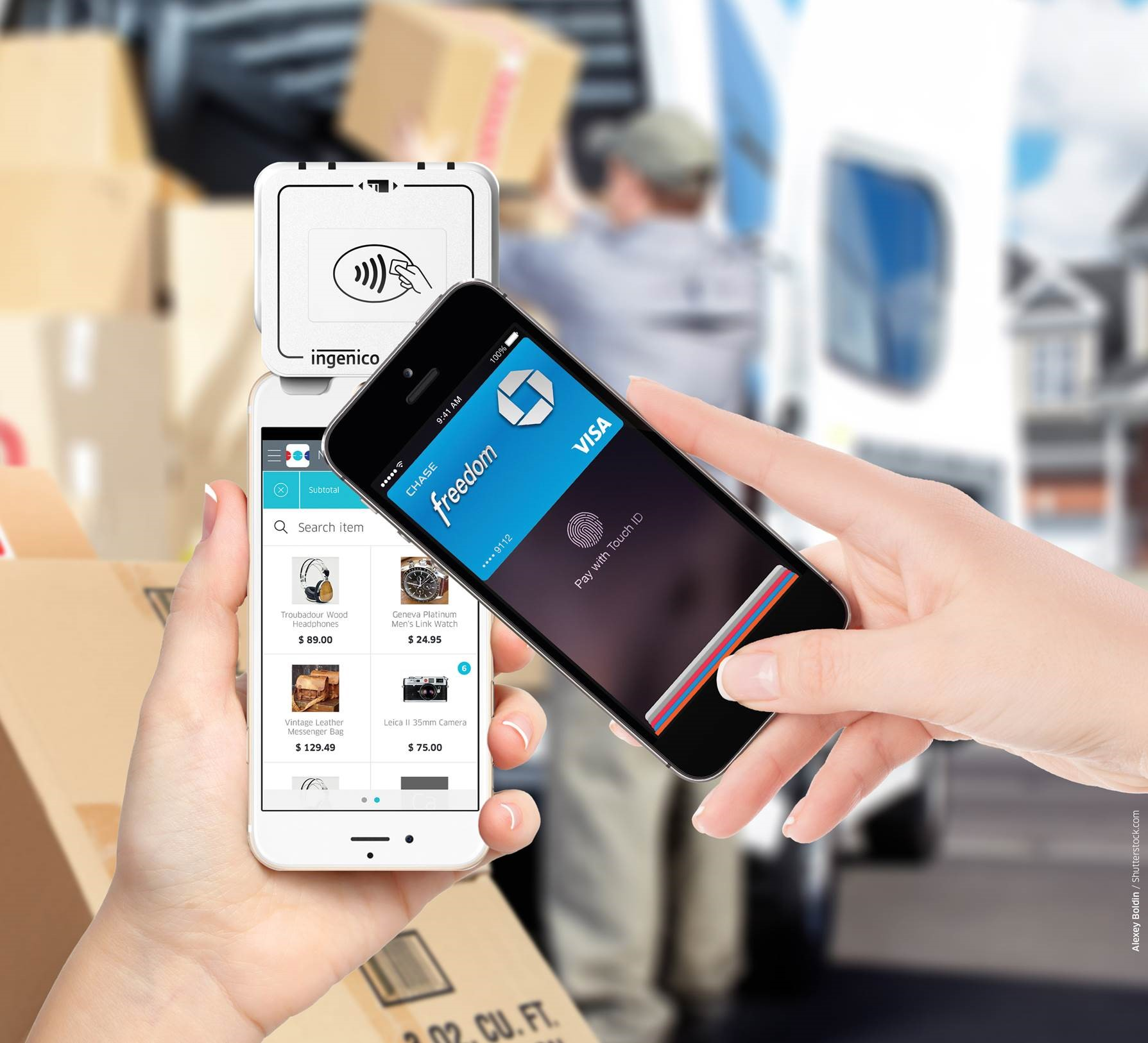 Ingenico Mobile Solutions RP170c