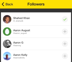 Now users will have to follow each other manually on Meerkat