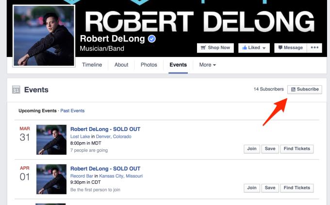 Robert Delong Subscribe