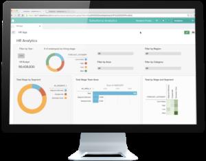 New Salesforce HR application.
