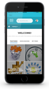 Salesforce HR mobile app.