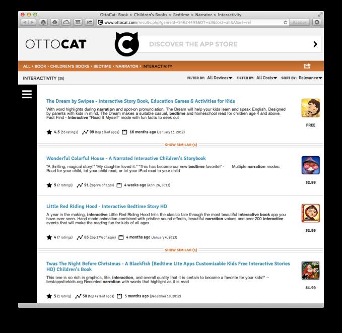 ottocat screenshot