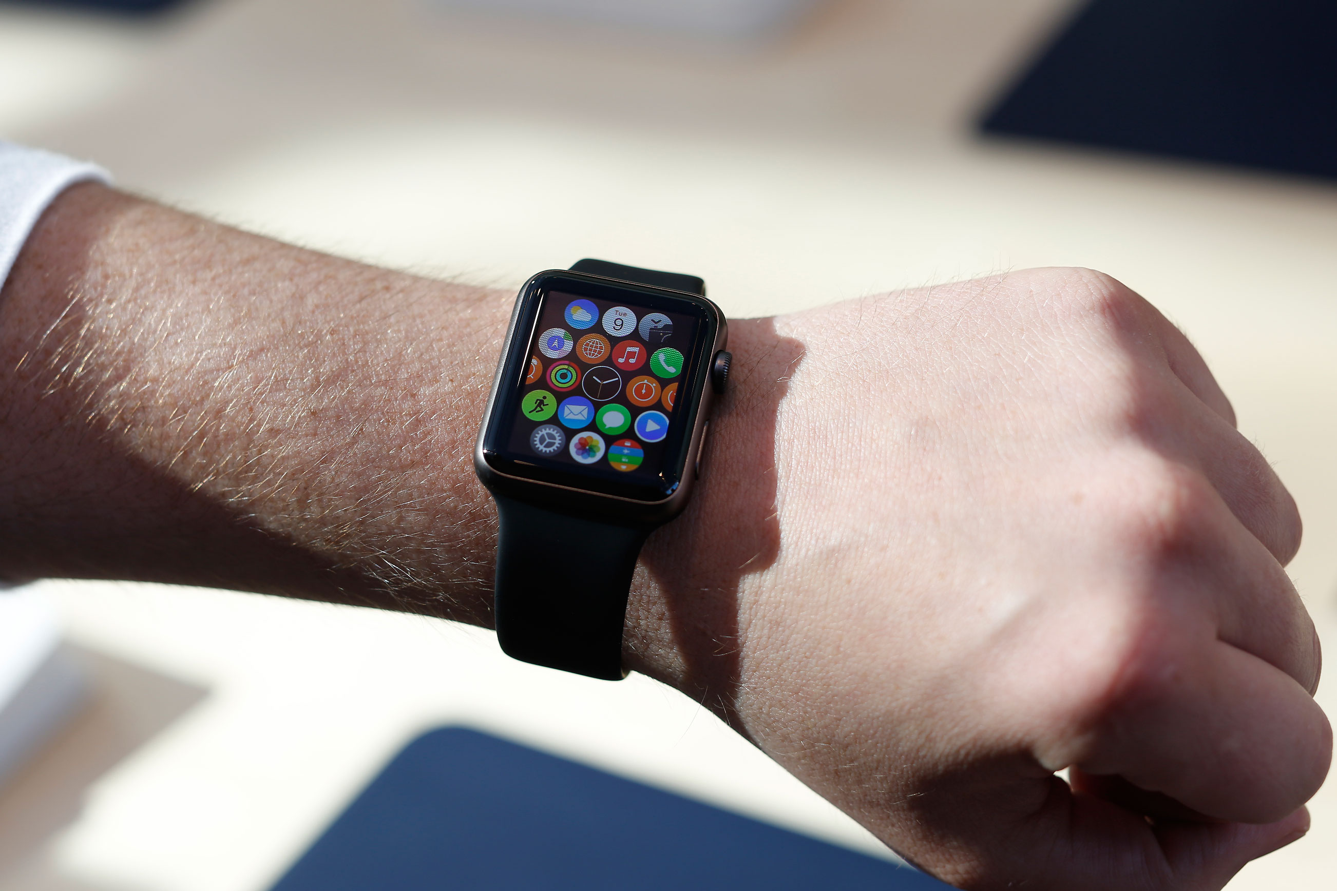 apple watch app view