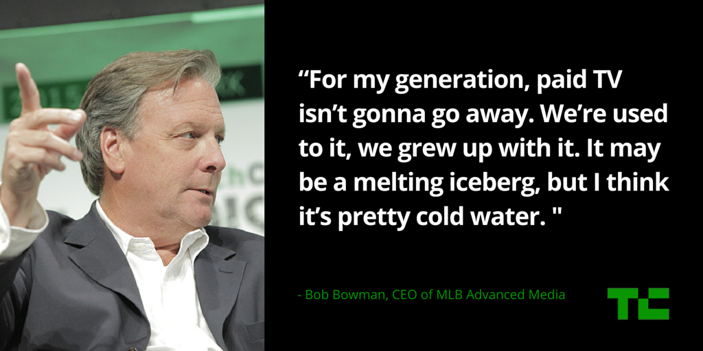 Bob Bowman of MLB